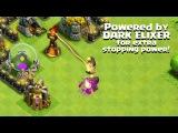 clash of clans - башня огня и новый дракон