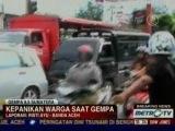 Сильнейшее землетрясение в 500 км от берега Индонезии